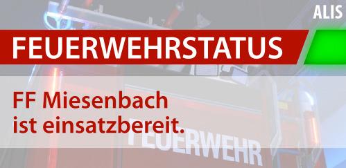 FF Miesenbach Einsatzbereitschaft